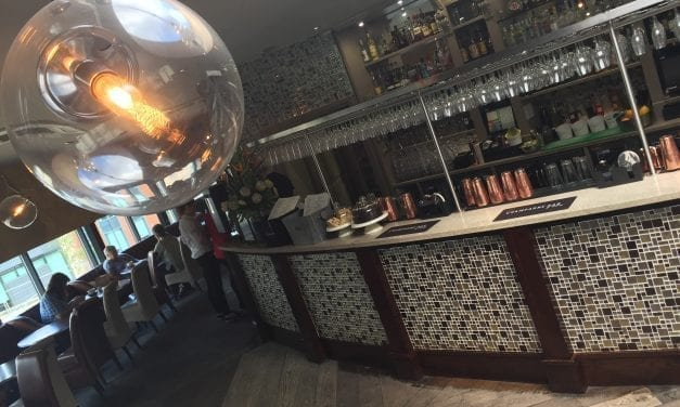 Ebony Champagne Bar
